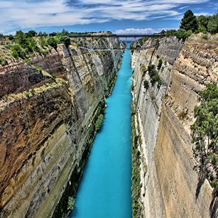 Corinth Canal - Isthmus