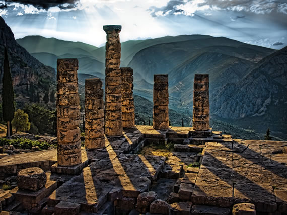 Temple of Apollo - Delphi