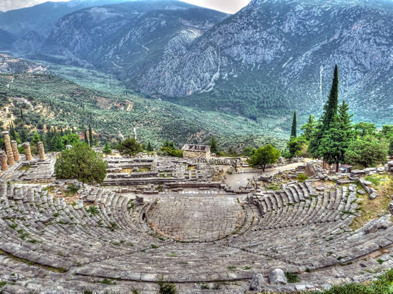 Delphi Ancient Theater