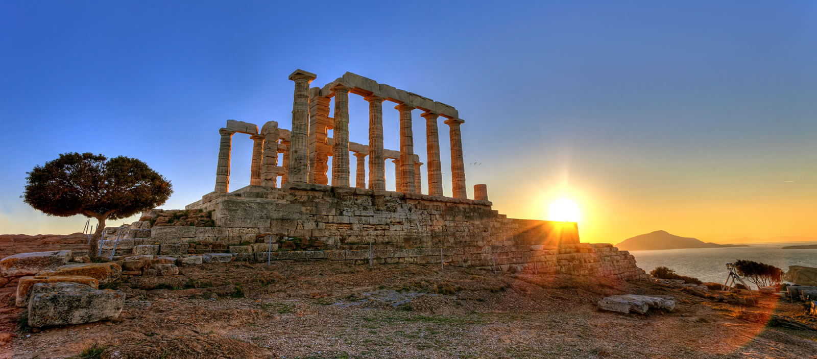 sounion-sunset