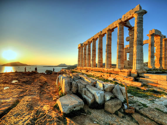 Temple Of Poseidon at Cape Of Sounion