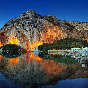 Lake of Vouliagmeni
